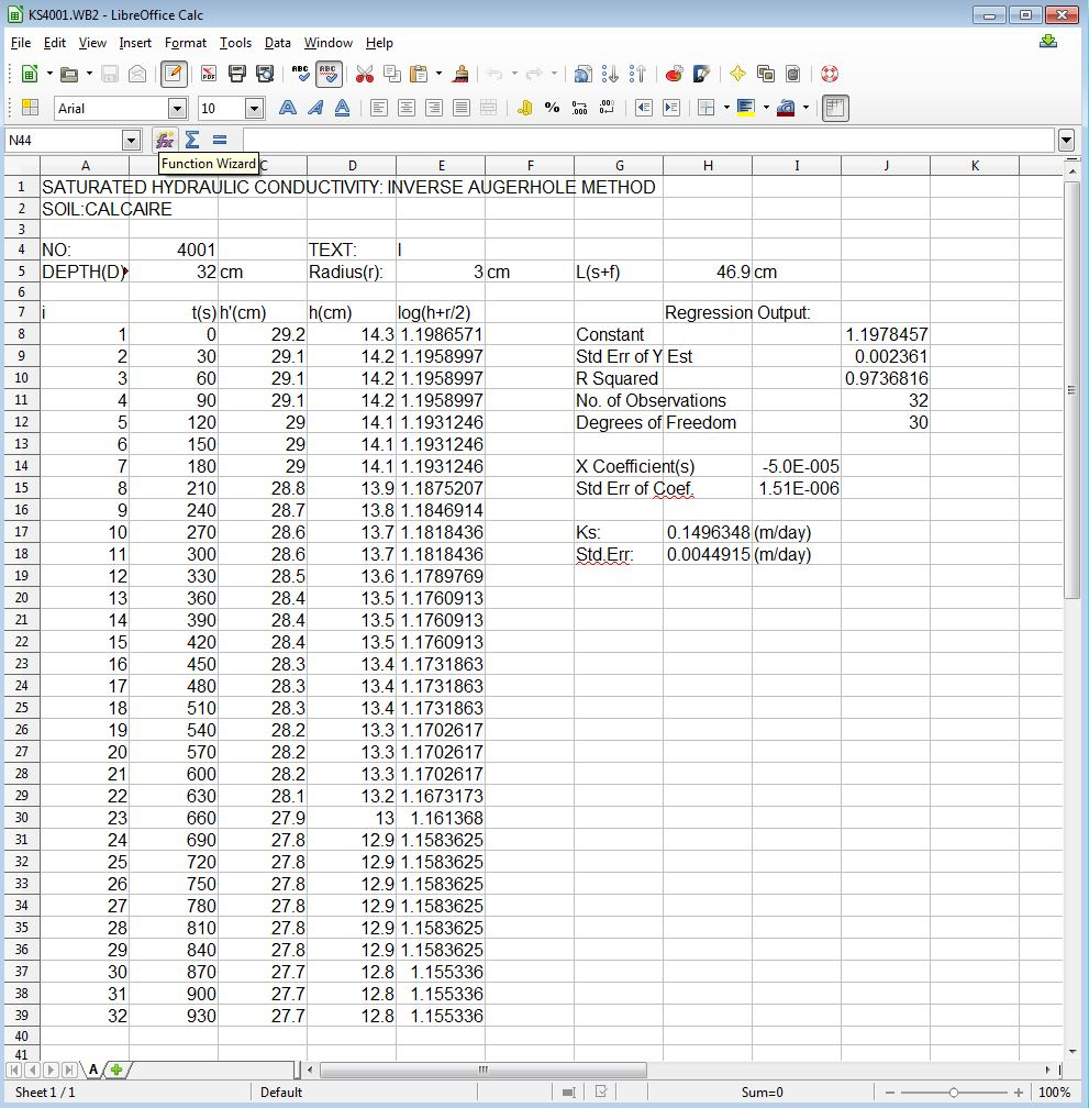 KS4001.WB2 in LibreOffice Calc v 4.1.3.2