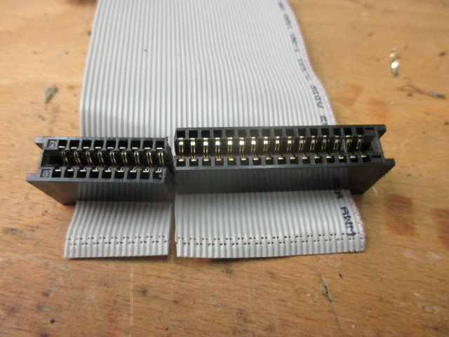 Parts on 50 pin old SCSI cable