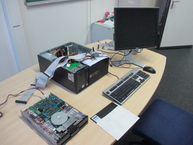 test floppy disk
