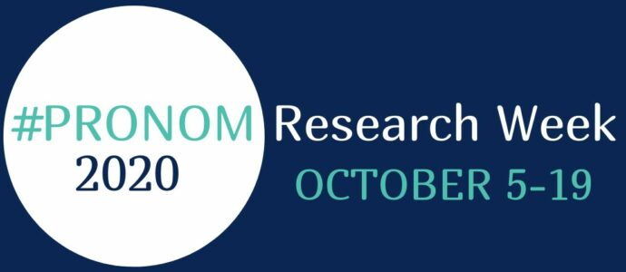 PRONOM research week logo