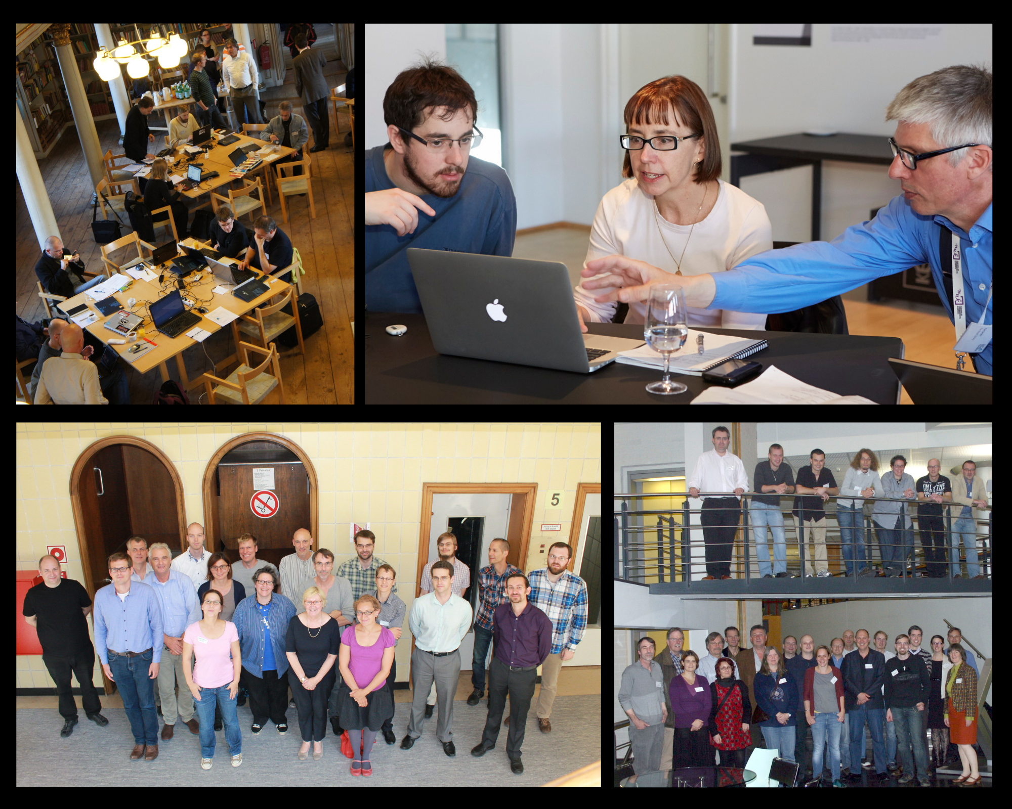 OPF hackathon collage