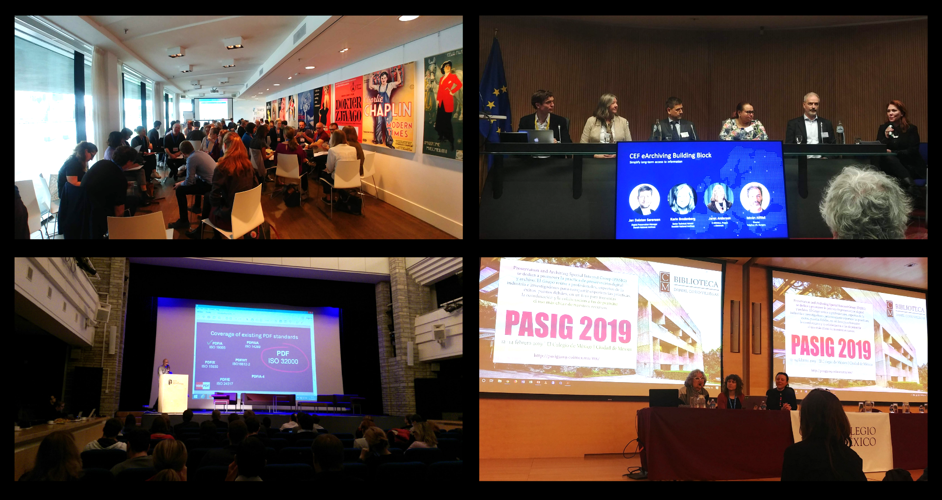 Conferences collage